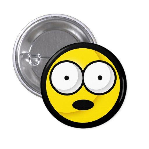 スマイリー|ああ!|ボタン 缶バッジピンバック
