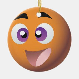 スマイリー! イギリスのビンゴのプロモーションの商品 セラミックオーナメント