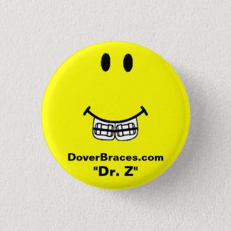 """スマイルのイメージ、DoverBraces.com、""""Z先生"""" 3.2cm 丸型バッジ"""