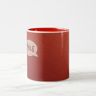 スマイルのマグ ツートーンマグカップ