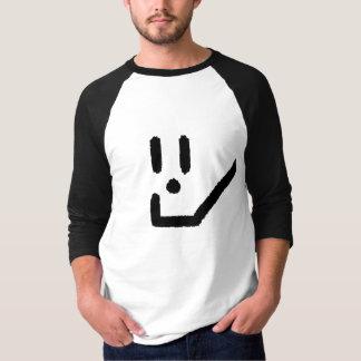 スマイルのロゴ はスマイルを、改良しますコミュニティをインスパイア Tシャツ