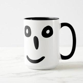 スマイルの顔 マグカップ