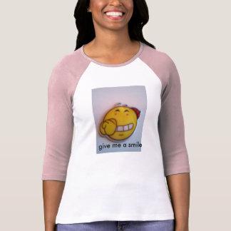 スマイルの顔 Tシャツ