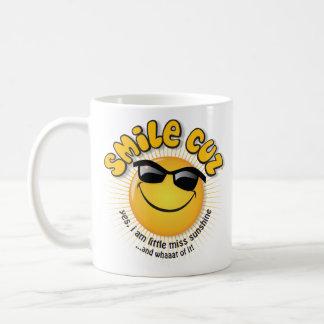 スマイルのcuzの… yes、私は少し失敗の日光です コーヒーマグカップ