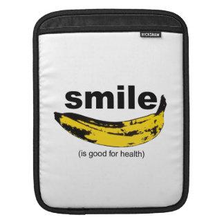 スマイルは健康のIpadの袖のためによいです iPadスリーブ