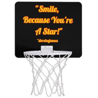 スマイル、のであなたは星!  バスケットボールたが ミニバスケットボールネット