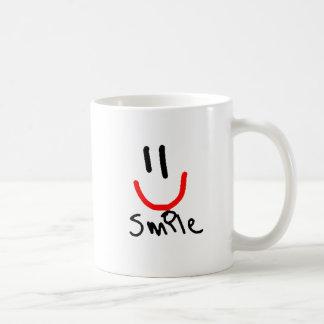 スマイル!!!!! コーヒーマグカップ