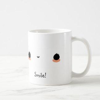 スマイル! コーヒーマグカップ