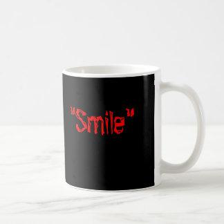 """""""スマイル"""" コーヒーマグカップ"""