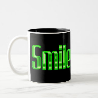 スマイル ツートーンマグカップ