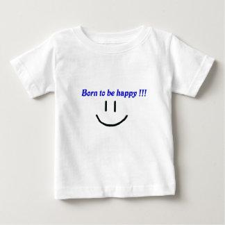 スマイル、幸福 ベビーTシャツ