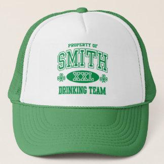 スミスアイルランドの飲むチーム キャップ