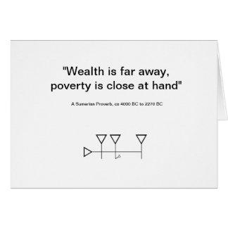 スメル人の諺6 カード