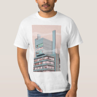 スモッグの町 Tシャツ