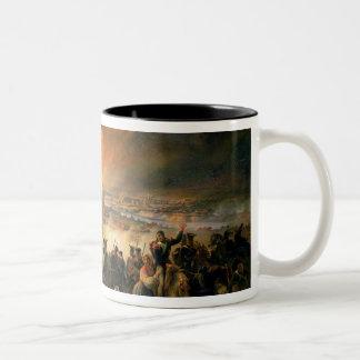 スモレンスク、第17威厳があるな1812年1839年の戦い ツートーンマグカップ