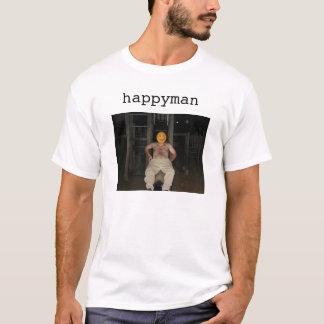 スライドのhappyman tシャツ