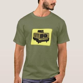 スライド映写機のティー Tシャツ