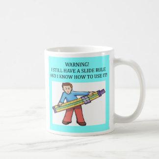 スライド・ルールの数学のユーモア、スライド・ルールの数学のユーモア コーヒーマグカップ