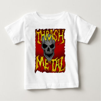 スラッシュの金属 ベビーTシャツ