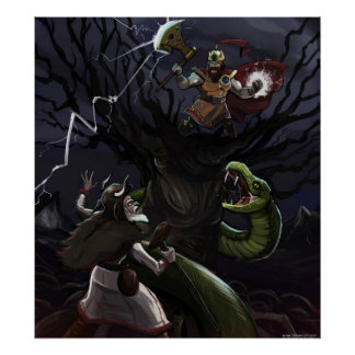 スラブの神話の大きいポスター ポスター