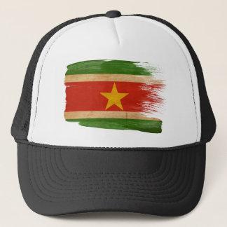 スリナムの旗のトラック運転手の帽子 キャップ