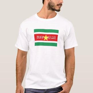 スリナムの旗の記念品のTシャツ Tシャツ