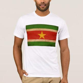 スリナムの旗のTシャツ Tシャツ