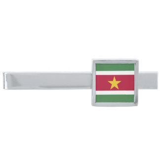 スリナムの旗 シルバー タイバー