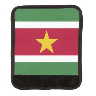 スリナムの旗 ラゲッジ ハンドルラップ