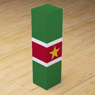 スリナムの旗 ワインギフトボックス