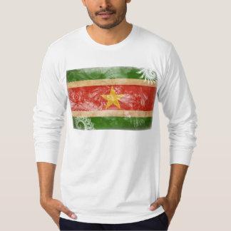 スリナムの旗 Tシャツ