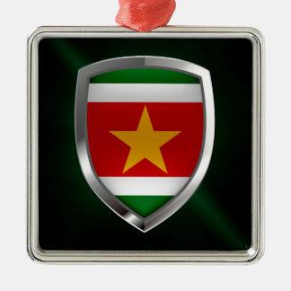 スリナムの金属紋章 メタルオーナメント