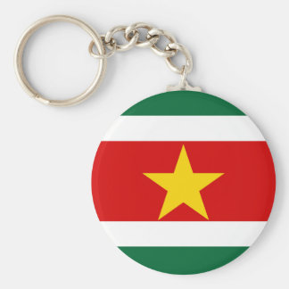スリナムスリナムの国旗の国家の記号 キーホルダー