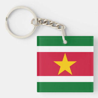 スリナムKeychainの旗 キーホルダー