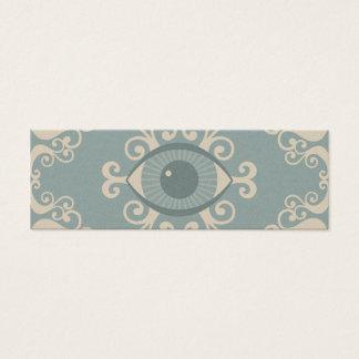 スリムなダマスク織の眼球の霊魂の帯出券 スキニー名刺