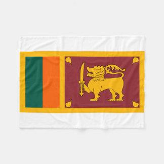 スリランカの国民の世界の旗 フリースブランケット