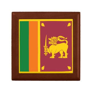 スリランカの旗のギフト用の箱 ギフトボックス