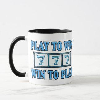 -スロットを遊ぶ双方にとって好都合への演劇 マグカップ