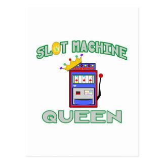 スロットマシンの女王 ポストカード