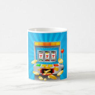 スロットマシン コーヒーマグカップ
