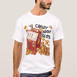 スロット価値Tシャツについて熱狂する Tシャツ