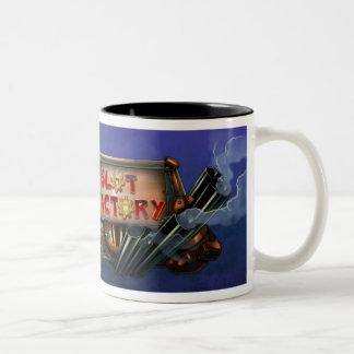 スロット工場マグ ツートーンマグカップ