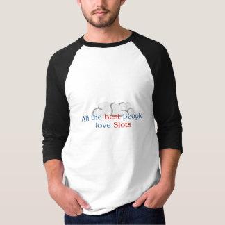 スロット恋人のraglanのTシャツ Tシャツ