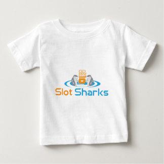 スロット鮫のティー ベビーTシャツ