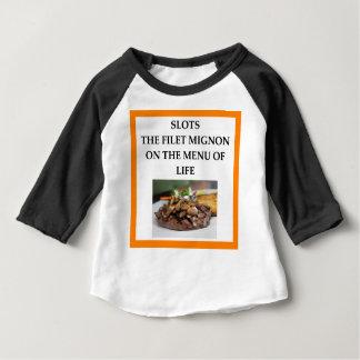 スロット ベビーTシャツ