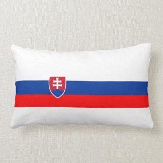 スロバキアの国旗の国家の記号 ランバークッション