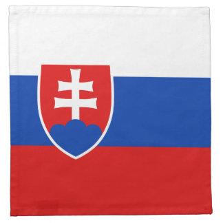 スロバキアの旗のナプキン ナプキンクロス