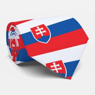 スロバキアの旗 カスタムネクタイ