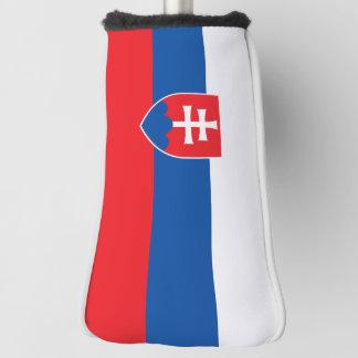 スロバキアの旗 ゴルフヘッドカバー