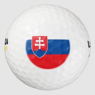 スロバキアの旗 ゴルフボール